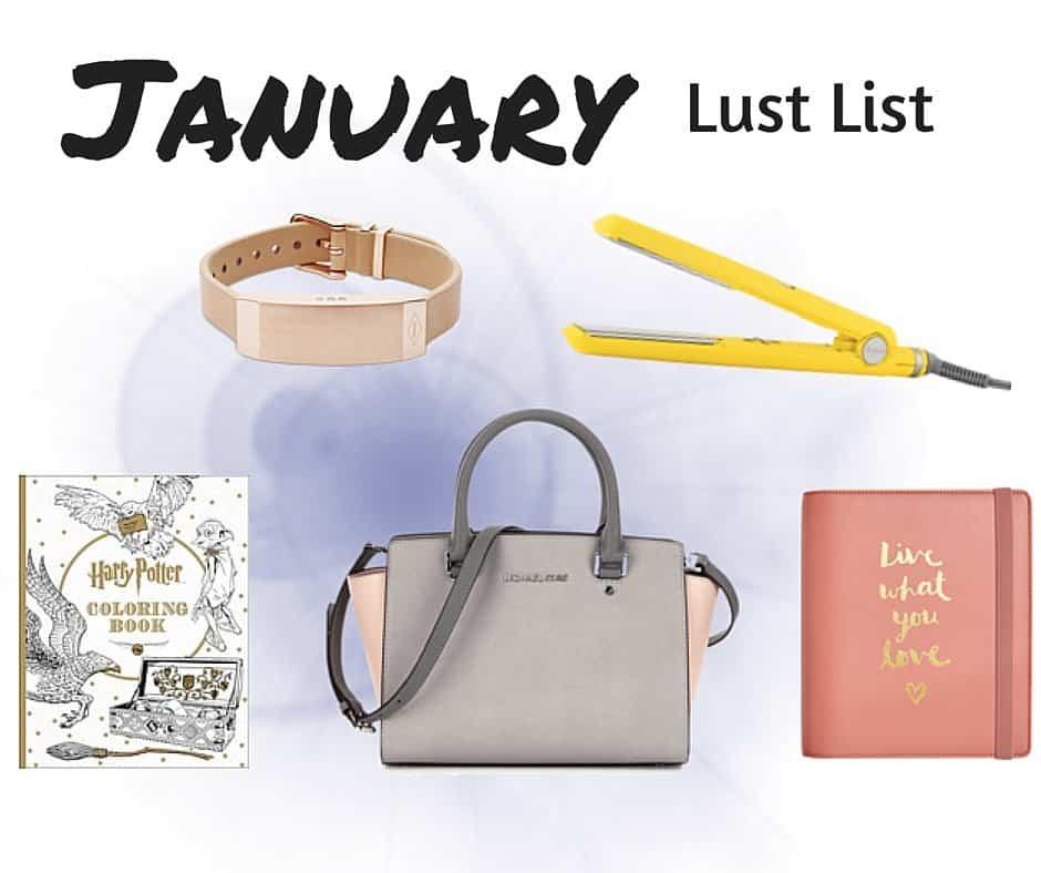 Lust List: January 2016