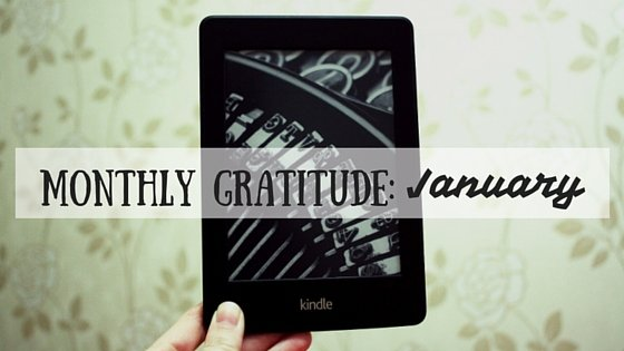 Monthly Gratitude: January
