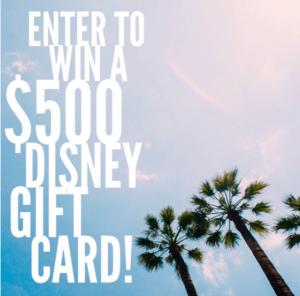 4 Favorites at Disney World + Win a $500 Disney Gift Card!