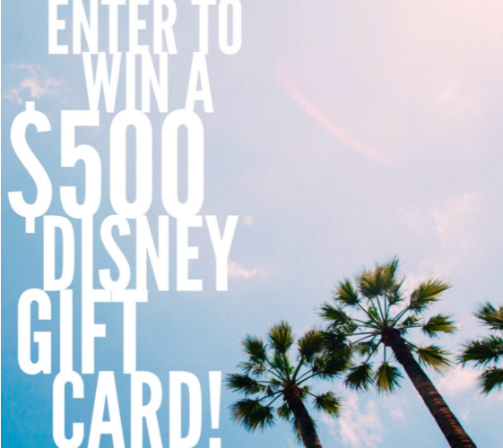 4 Favorites at Disney World + Win a $500 Disney Gift Card!