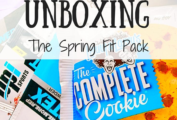 PrettyFit Unboxing: The Spring Fit Pack
