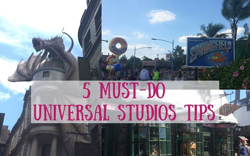 Taking a vacation to Universal Studios? Remember these 5 tips to have a great time at Universal Studios and the Wizarding World of Harry Potter. http://www.caseyat.com/5-must-universal-studios-tips/