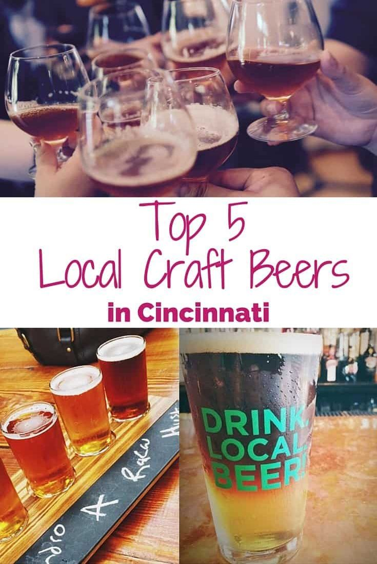 Top Five Local Craft Beers in Cincinnati