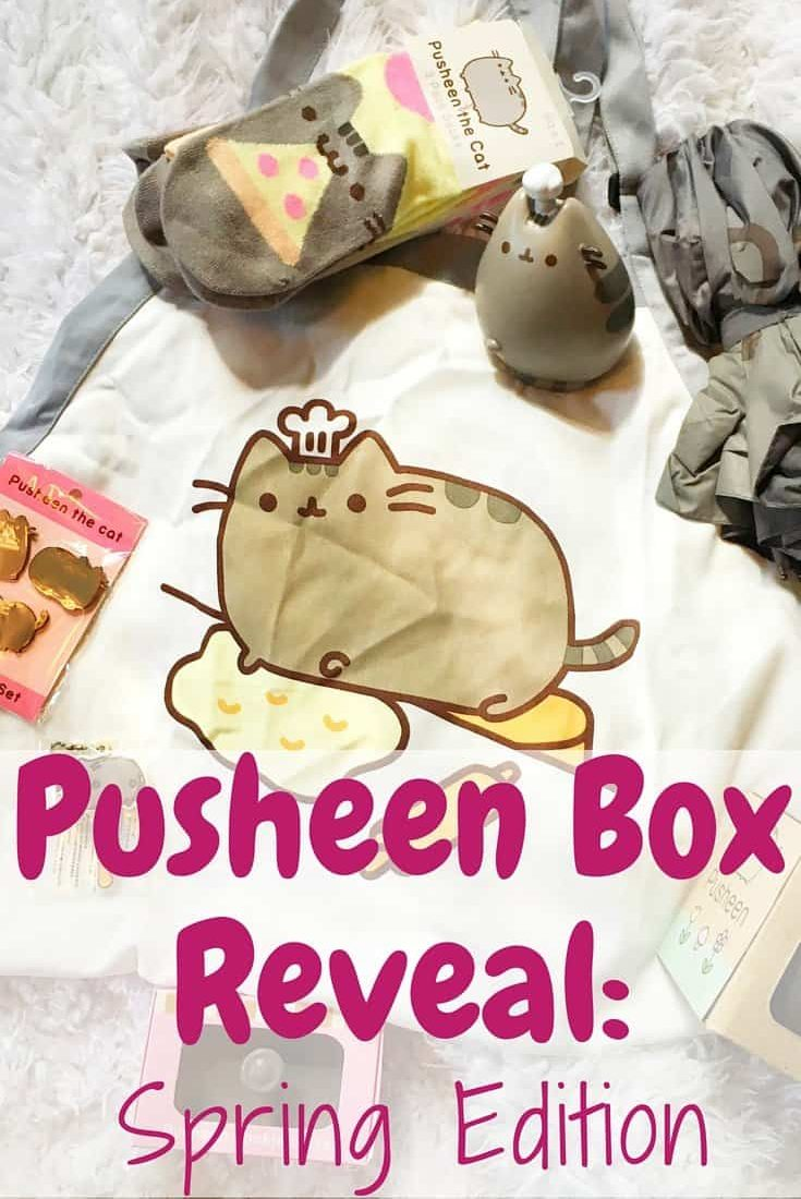 Pusheen Box Reveal: Spring Edition