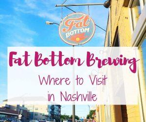 Fat Bottom Brewing in Nashville