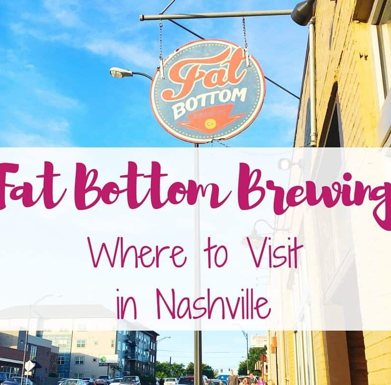 The #5 Best U.S. City is Nashville, TN and for good reason! Make a weekend trip and enjoy these hot spots including Fat Bottom Brewing.