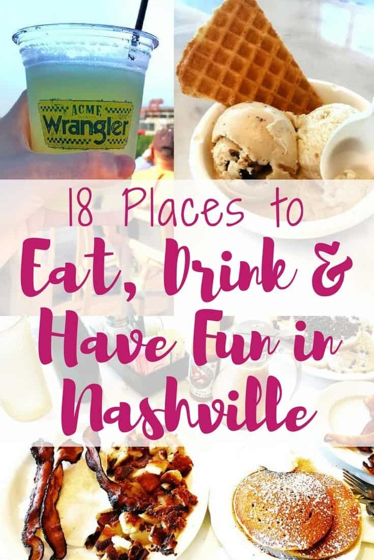 18 Places to Eat, Drink and Have Fun in Nashville. This list of things to do in Nashville guarantees a fun time in the Music City.