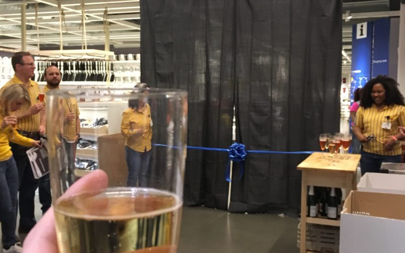 IKEA Grand Reopening Event