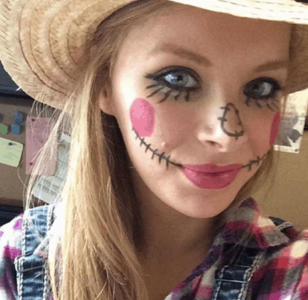 Easy Skeleton Makeup For Halloween - Casey La Vie