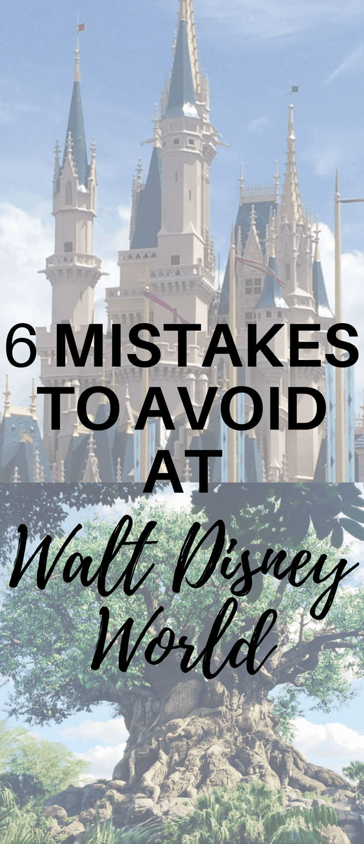 This Walt Disney World Orlando travel guide gives you the 6 mistakes you need to avoid so you can have the best Disney vacation.