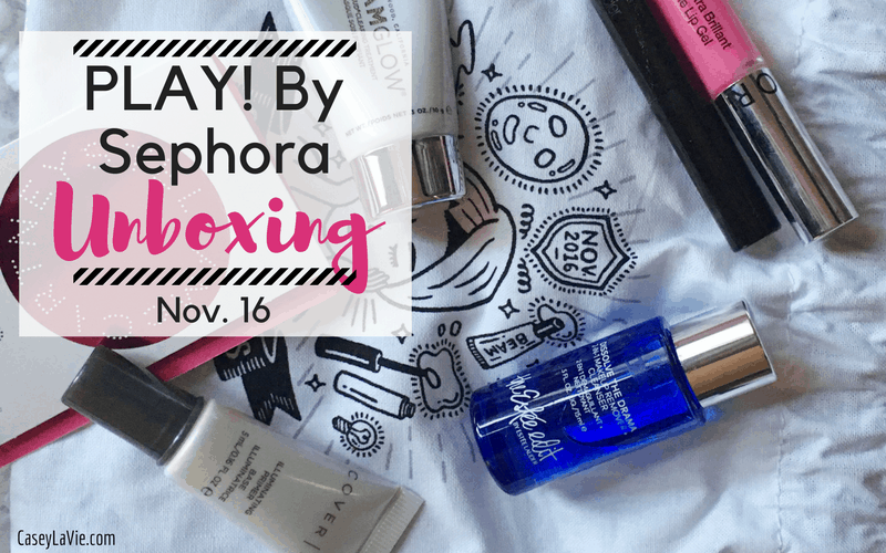 PLAY! By Sephora Unboxing Nov 16