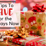 6 Tips to Save for the Holidays Now