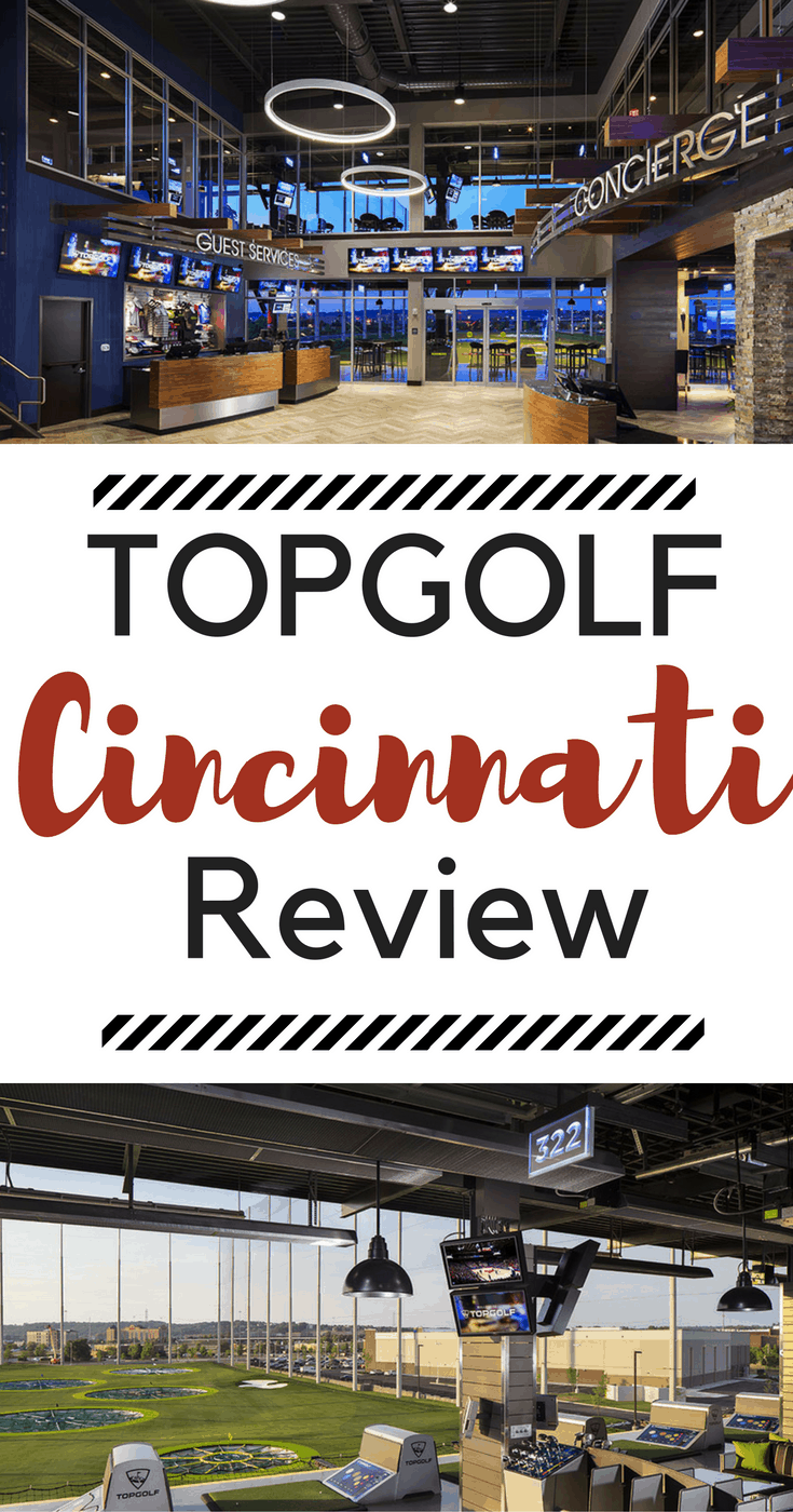 Top Golf Cincinnati takes the driving range concept to a completely different level, making it fun for everyone from pros to novices.