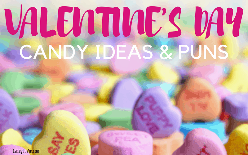 Valentine's Day Candy Ideas and Puns