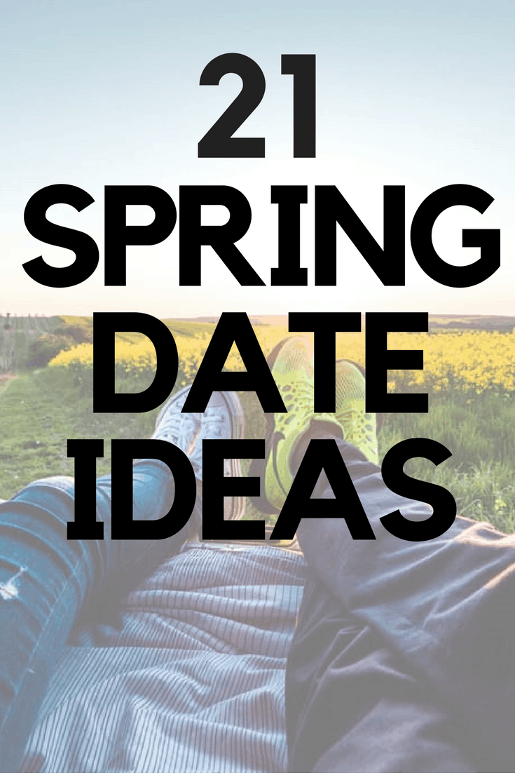 If you're looking for things to do this Spring, try this list of 21 Spring Date Ideas including some fun, romantic and cheap date ideas for couples and friends.