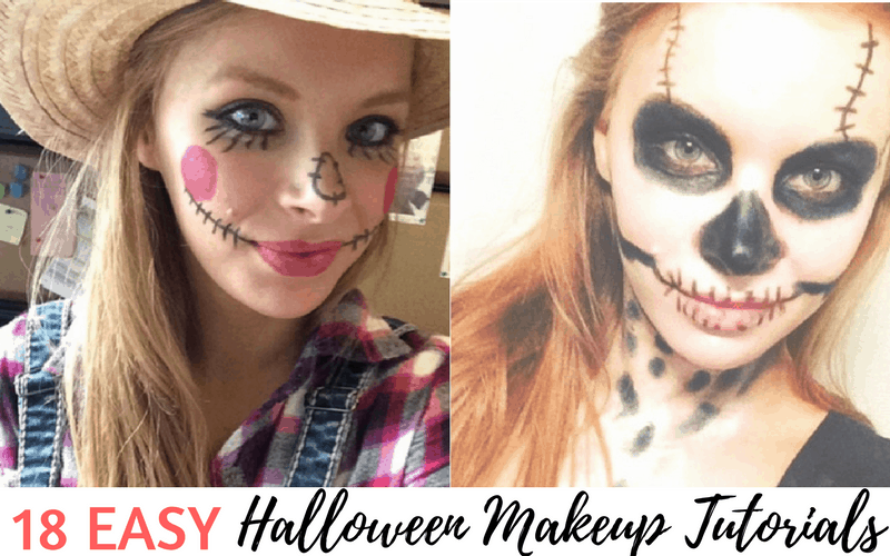 18 Easy AF Halloween Makeup Tutorials