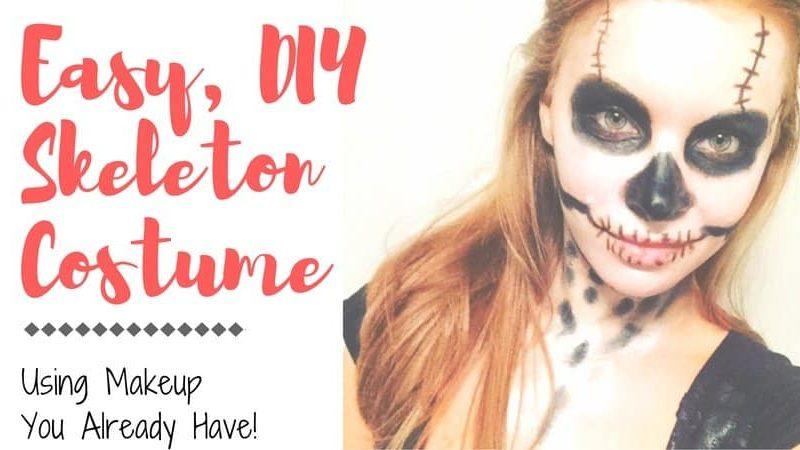 18 Easy AF Halloween Makeup Tutorials