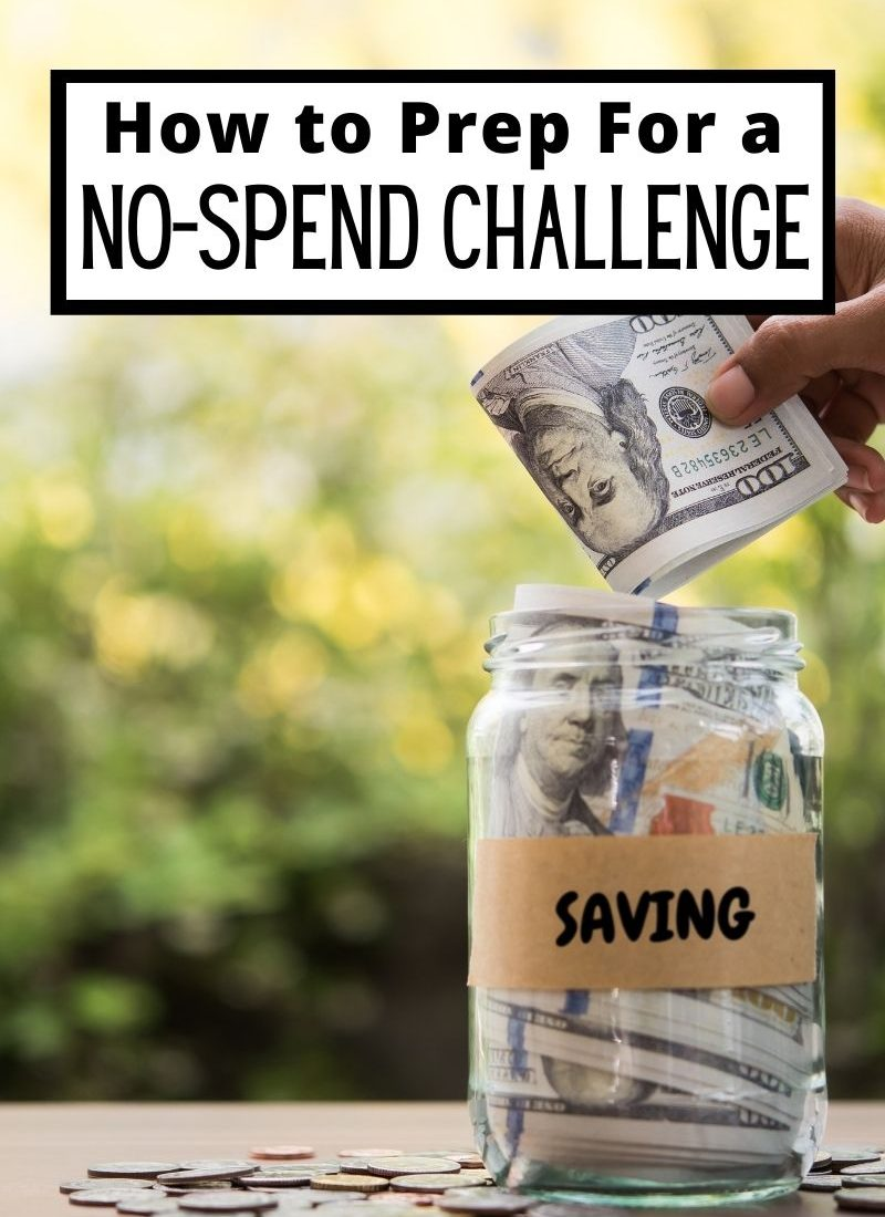 5 Tips to Prepare for a No-Spend Challenge