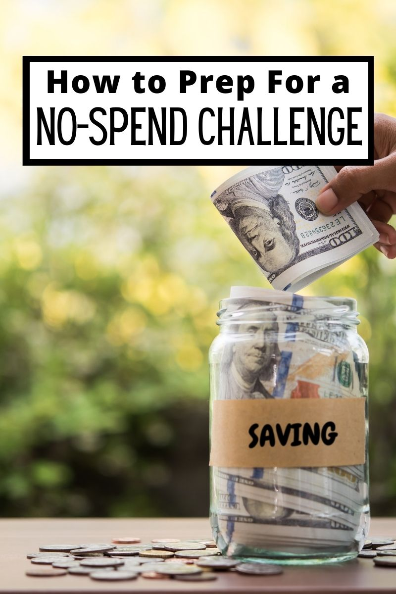 5 Tips to Prep for a No-Spend Month or Challenge