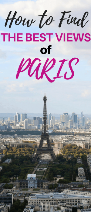 This travel guide to the best views in Paris shows you how to visit the Montparnasse Tower. You'll see the best views of the Eiffel Tower. Plus, it's one of the cheap things to do in Paris. You'll leave with amazing pictures of Paris, the Eiffel Tower and all the arrondissements.