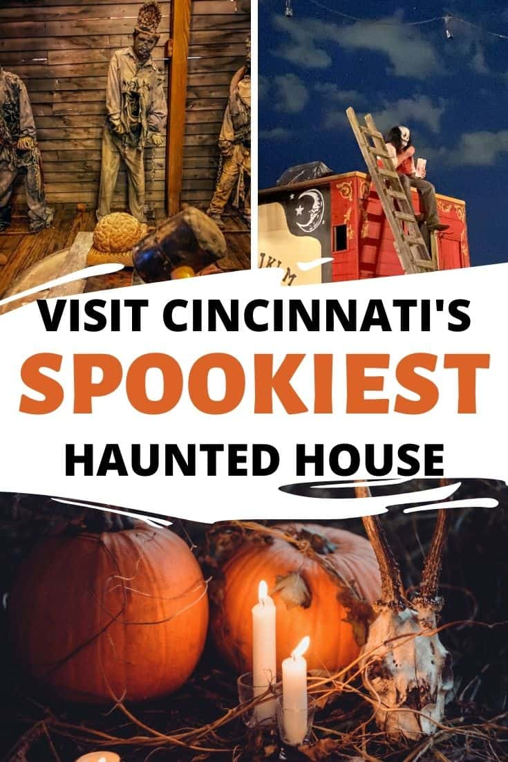 Looking for the best haunted house in Cincinnati? Visit All Hallow's Eve Terror Town for an immersive haunted trail & town to explore.