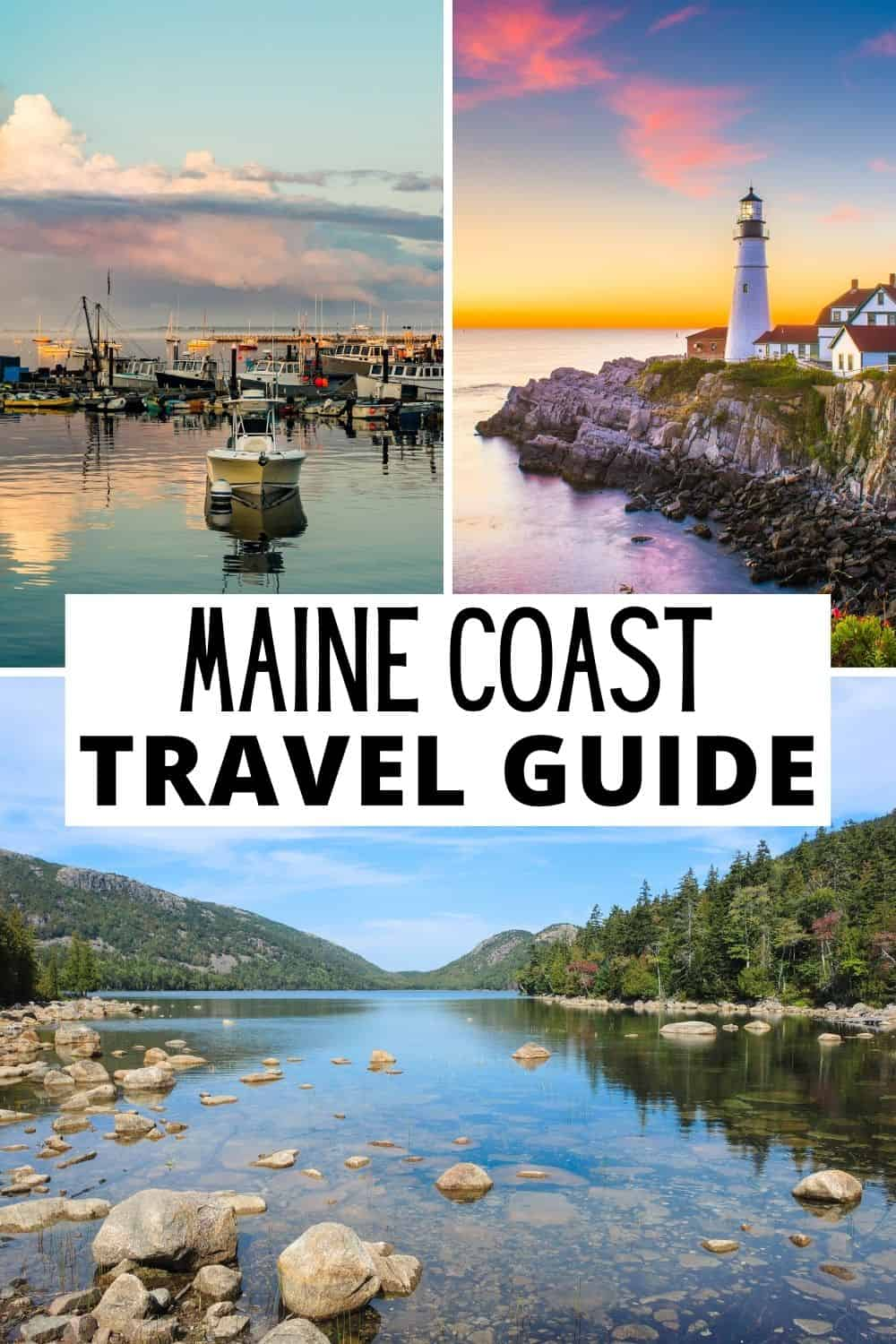 The ultimate Maine vacation travel guide for road tripping and exploring along the coast of Maine.