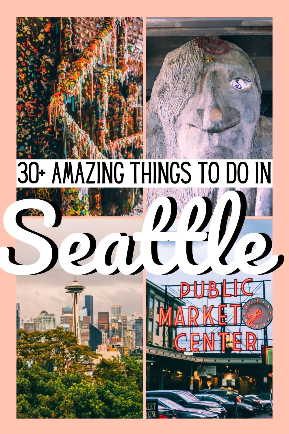 Seattle Travel Guide: Here's 30+ Things to Do in Seattle from where to visit, what tours to take and where to get a drink.